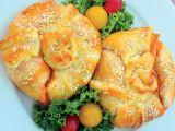Nadívané hermelínové měšce recept