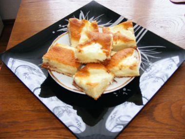 Povidlovo-tvarohový koláč(buchta)