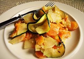 Zelenina s kokosovým mlékem recept