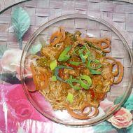 Rychlé čínské nudle recept