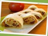 Jablkový závin se třemi druhy tuků  bezvaječný  pro Rebeku recept ...
