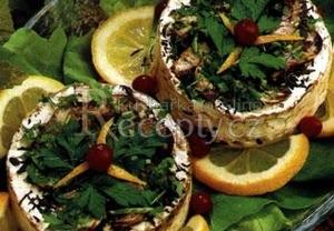 Pečený hermelín s tymiánem