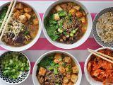 Miso polévka se soba nudlemi a pečeným tofu recept