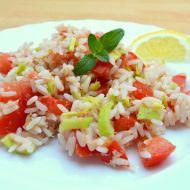 Rýžový tuňákový salát recept