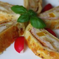 Kladenské roládky s paprikou recept