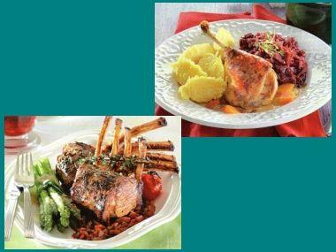 Kachna a jehně: Slavnostní pečínky