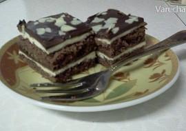 Čokoládovo  mascarpone kostky recept