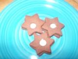 Kakaové hvězdičky s krémem recept
