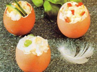 Velikonoční vaječný salát