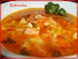 Buřtíková polévka s celerem a hlívou ústřičnou recept