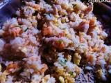 Losos v rýži recept