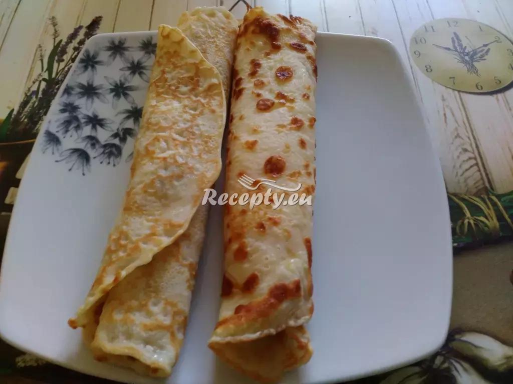Špenátové palačinky s balkánským sýrem recept  zeleninové ...