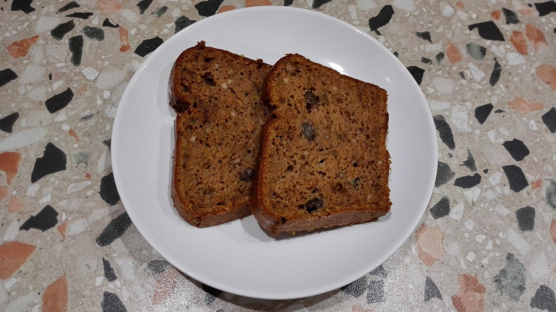 Mrkvový chlebíček podle Břicháče Toma recept
