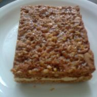 Medové řezy s ořechy recept