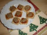 Linecké s ořechovou čepicí recept