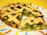 Slaný brokolicový koláč recept