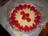 Nepečený svěží dortík recept