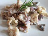 Květákovo  houbové ragú recept