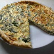 Špenátový quiche se sýrem recept