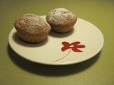 Skořicové muffiny s ovocem recept