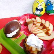 Čokoládová vejce plněná ovocem recept