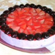 Ananasovo-třešňový dort recept