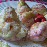 Tvarohové jahodové knedlíky recept
