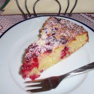 Tvarohový koláč s rybízem recept