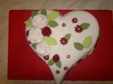 Valentýnský dort pro manžela recept