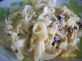 Těstoviny s tvarohem recept