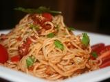 Špagety z Říma recept