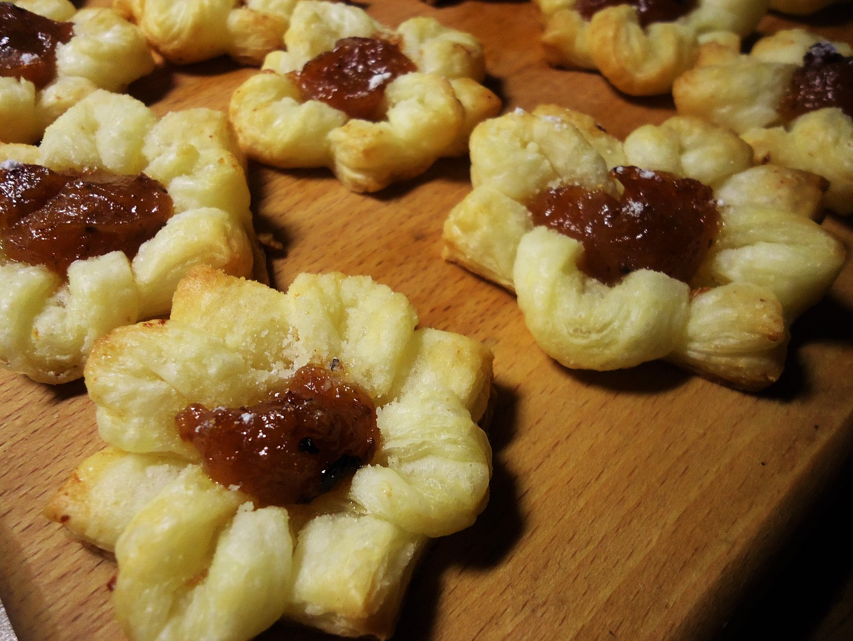 Kytičky z listového těsta recept