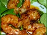 Marinované krevety Gambas na pánvičce recept