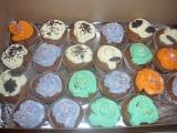 Čokoládové muffiny s vanilkovým krémem recept