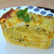 Vegetariánské zapékané brambory s nivou recept