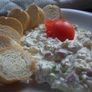 Bílkový salát recept