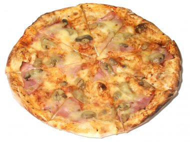 Salámová pizza so šampiňónmi