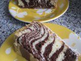 Pruhovaný dortík recept