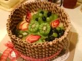 Ovocné pokušení recept