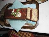 Slaný moučník s houbami, uzeninou a cuketou recept