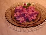 Řepový salát s nivou recept