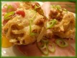 Bramborová hnízda se syrečky a masem recept