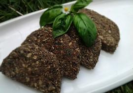 RAW bazalkový chléb s chia semínky recept