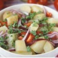 Letní zeleninový salát recept