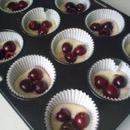 Plněné muffiny s ovocem recept