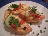 Neobyčejné chlebíčky recept