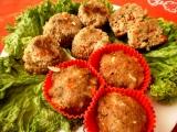 Masové ďábelské muffínky recept
