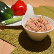 Tuňáková pomazánka s čerstvou paprikou recept