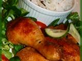 Kuře na vřesu aneb netradiční kuře na medu recept