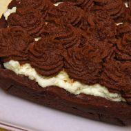 Čokoládovo-kávový koláč recept